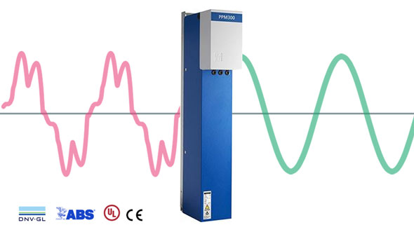 Actief dynamisch filter - PPM300 - Comsys