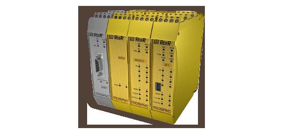 Programmeerbaar veiligheidsrelais Mosaic - ReeR Safety