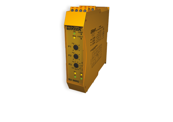 Speed monitoring relay - ReeR Safety