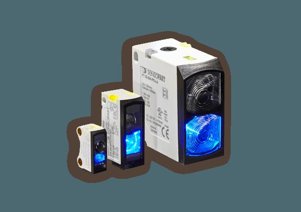 F 10 sensoren met blauw licht | SensoPart