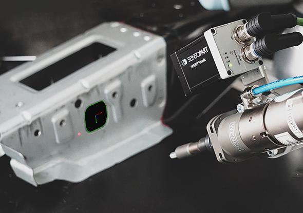 Software voor 2D en 3D robot toepassingen - SensoPart Vision camera