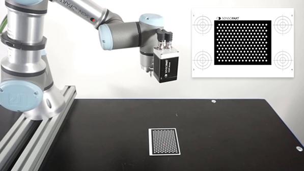 Kalibratieplaat voor VISOR®-robotic vision camera's - SensoPart