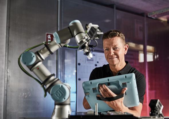 Vision camera universal robot - SensoPart