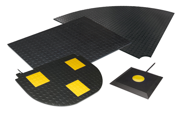 Veiligheidsmatten en schakelmatten - BBC Bircher Smart Access