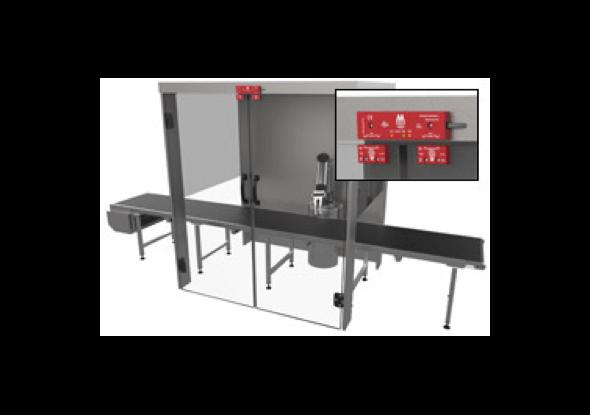 HED-veiligheidsschakelaar voor twee aangrenzende deuren - Mechan Controls