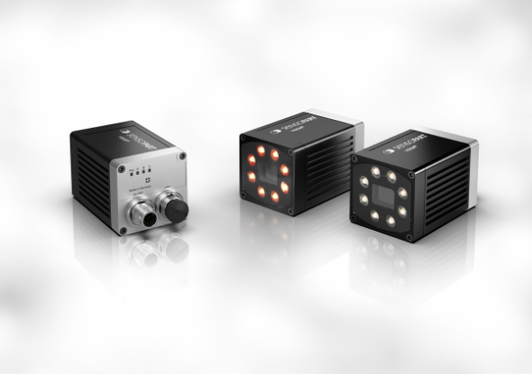 V50 vision sensor met rood en wit licht verlichting - SensoPart