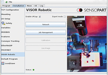 Software - Robotic vision camera - SensoPart