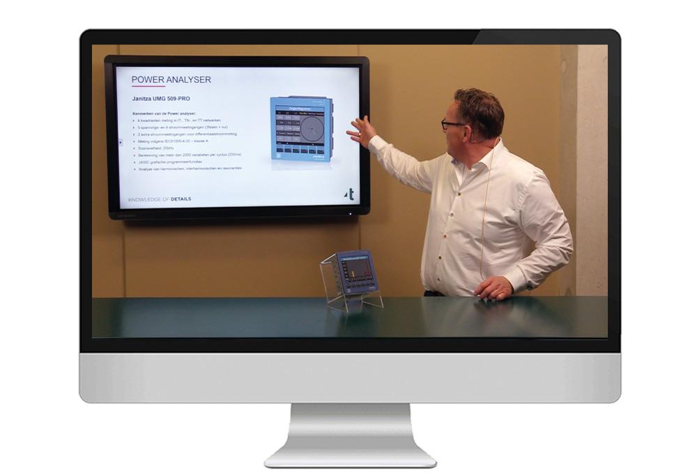Webinar - Het toepassen van de Janitza UMG 509-PRO in de praktijk