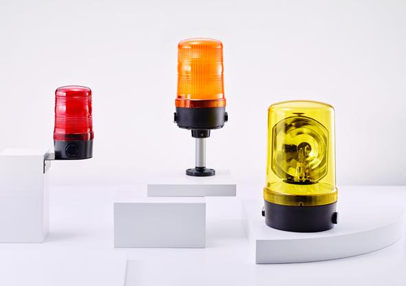 Signaallamp zwaailamp met roterende spiegel - Auer signal