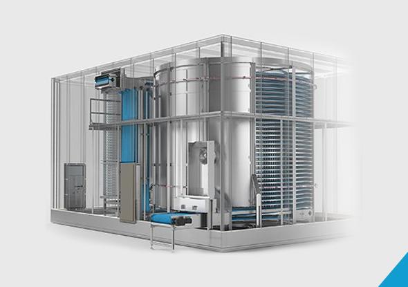 Beveiliging van koelinstallaties in de voedingsmiddelenindustrie
